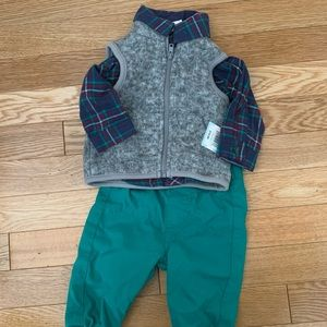 Fall outfit for infant